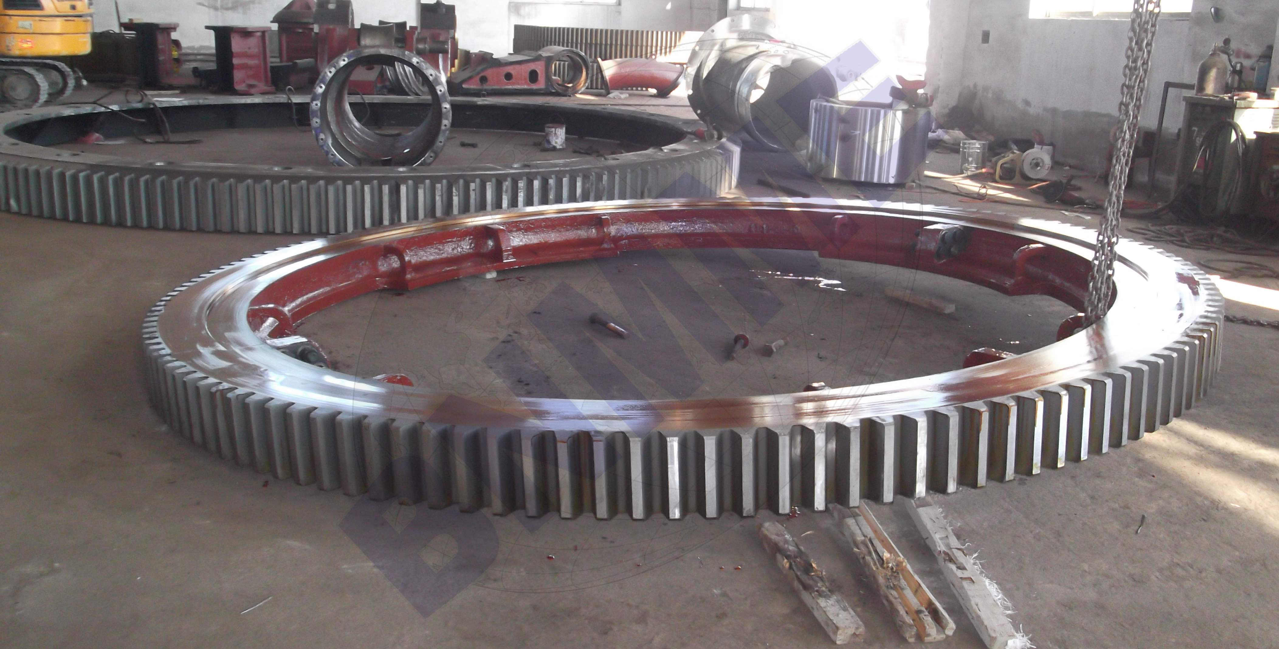 gear ring for mining, metallurgy, cement and other machinery spare parts