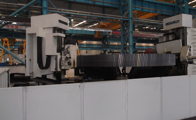 12500mm Gear-hobbing machine